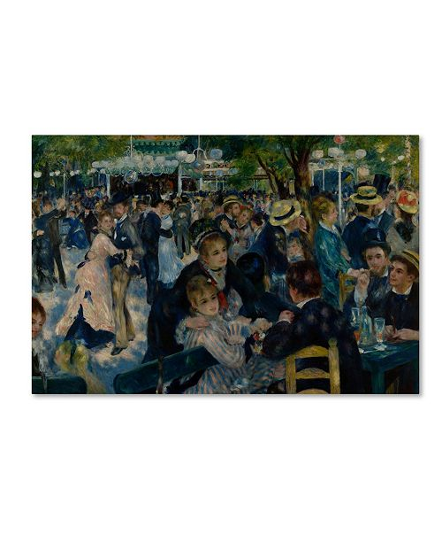 "Trademark Global Pierre-Auguste Renoir 'Le Moulin de la Galette' Canvas Art - 47"" x 30"" x 2"""
