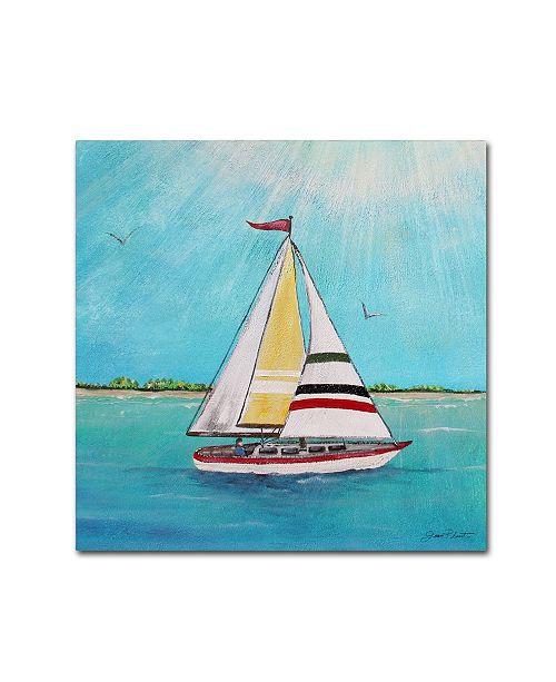 """Trademark Global Jean Plout 'Summer Breeze 2' Canvas Art - 24"""" x 24"""" x 2"""""""