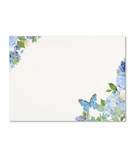 "Trademark Global Jean Plout 'Envelope 1' Canvas Art - 32"" x 24"" x 2"""