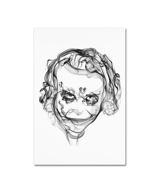 "Trademark Innovations Octavian Mielu 'Joker' Canvas Art - 32"" x 22"" x 2"""
