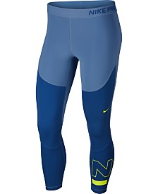 Nike Pro Colorblocked Cropped Leggings