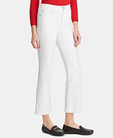 Petite Regal Straight Crop Jeans