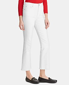 Lauren Ralph Lauren Petite Regal Straight Crop Jeans