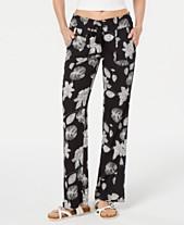 69b100734d Roxy Juniors' Floral Printed Soft Pants