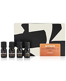 4-Pc. Activate Essential Oils Set