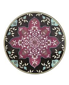 Lenox Global Tapestry Garnet  Mandala Accent/Salad Plate