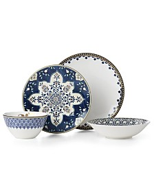 Lenox Global Tapestry Sapphire  4 Piece Place Setting