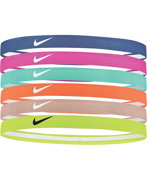 Nike 6-Pk. Sport Headbands