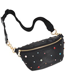 Rhinestone Sparkle Belt Bag