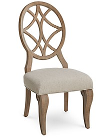 Trisha Yearwood Jasper County Stately Brown Side Chair