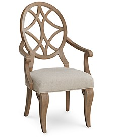 Trisha Yearwood Jasper County Stately Brown Arm Chair