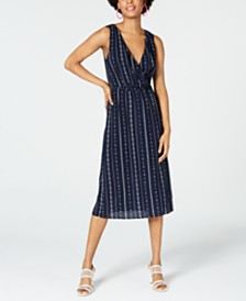 City Studios Juniors' Printed Midi Dress