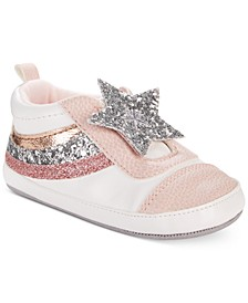ro + me by Baby Girls Star Slip-On Shoes