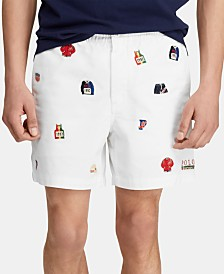 "Polo Ralph Lauren Men's Classic Fit Chariots 6"" Polo Prepster Shorts"