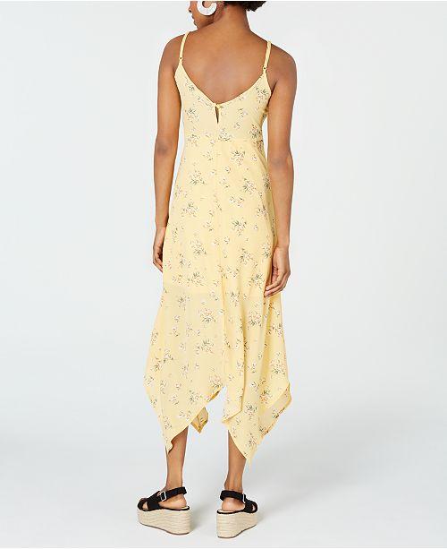 ab07e468cc0 Trixxi Juniors  Floral-Print Maxi Dress   Reviews - Dresses ...