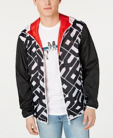 Armani Exchange Men's Logo Graphic Jacket