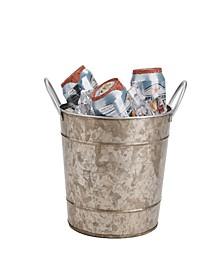 Cooper Plated Galvanized Ice Bucket