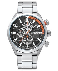 Timberland Men's Needham Chronograph Silver/Black Watch
