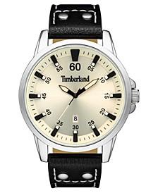 Men's Eastham Black/Silver/Cream Watch