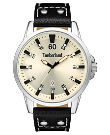 Timberland Men's Eastham Black/Silver/Cream Watch