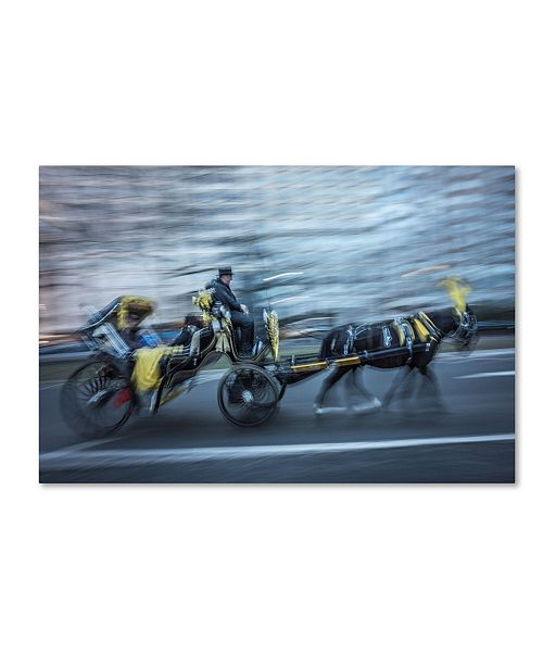 """Trademark Global Moises Levy 'Horse 2' Canvas Art - 24"""" x 16"""" x 2"""""""