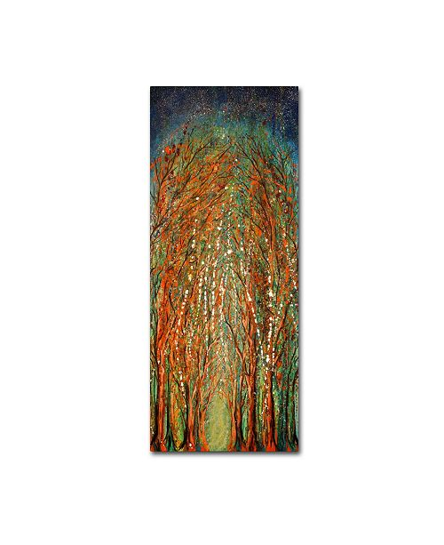 """Trademark Global Michelle Faber 'The Wildwood Forest' Canvas Art - 47"""" x 20"""" x 2"""""""