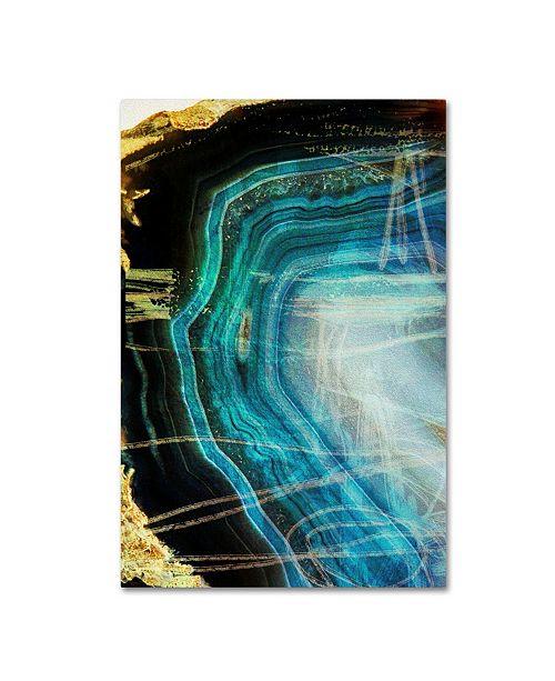 "Trademark Global Natasha Wescoat 'Gate 7' Canvas Art - 19"" x 12"" x 2"""