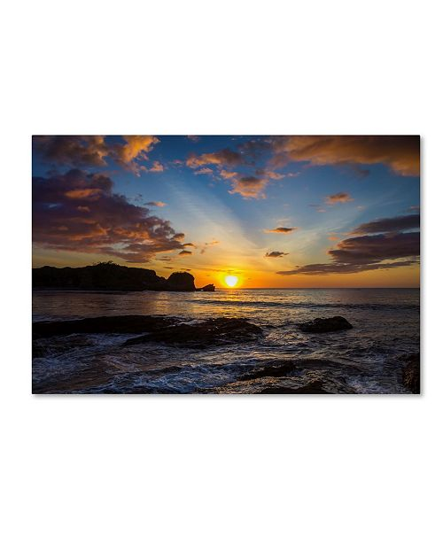 "Trademark Global Robert Harding Picture Library 'Sunset 101' Canvas Art - 24"" x 16"" x 2"""