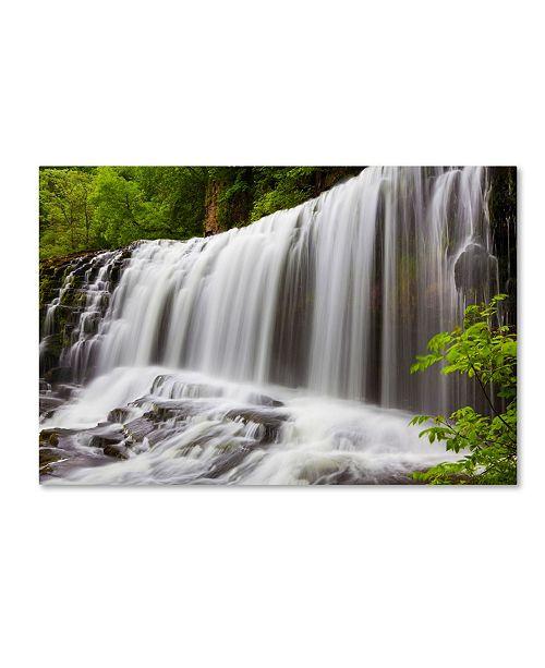"Trademark Global Robert Harding Picture Library 'Waterfall 21' Canvas Art - 19"" x 12"" x 2"""