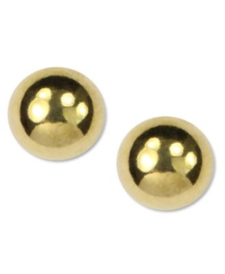 Image of Anne Klein Gold-Tone Stud Earrings
