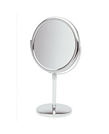 "The JP4045C 9"" Tabletop Two-Sided Swivel Vanity Mirror"