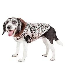 Pet Life Luxe 'Furracious' Cheetah Patterned Faux Fur Dog Coat Jacket