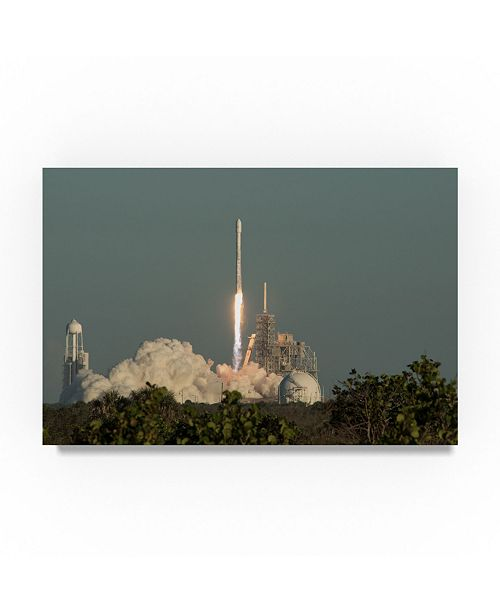 "Trademark Global Robert Michaud 'Launch' Canvas Art - 32"" x 22"" x 2"""