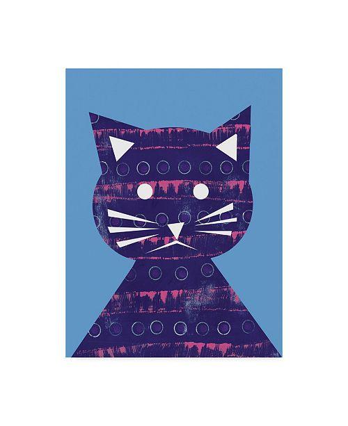 "Trademark Global Summer Tali Hilty 'Luna' Canvas Art - 32"" x 24"" x 2"""