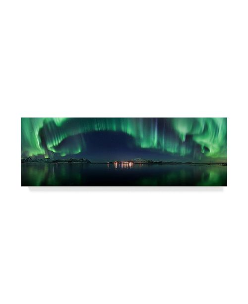 "Trademark Global Roy Samuelsen 'Magical Night' Canvas Art - 19"" x 2"" x 6"""