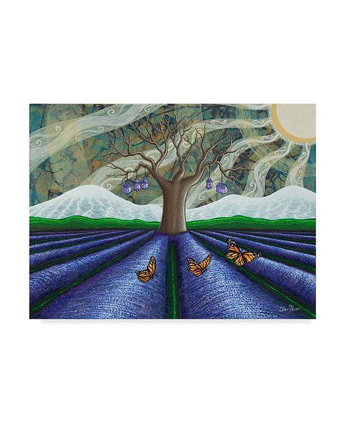 "Trademark Global Jake Hose 'Lavender Fields' Canvas Art - 24"" x 18"" x 2"""