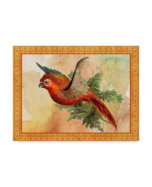 "Trademark Global Jean Plout 'Beautiful Birds' Canvas Art - 24"" x 18"" x 2"""