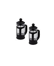 Mind Reader Single Serve French Press Coffee & Tea Maker, 2 Pack