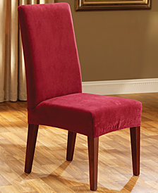 Sure Fit Stretch Pique Short Dining Room Chair Slipcover