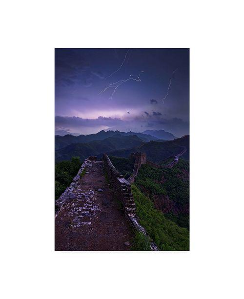 "Trademark Global Yan Zhang 'Great Wall Path' Canvas Art - 30"" x 2"" x 47"""