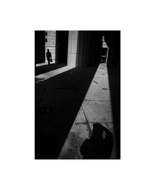 """Trademark Global Windancer 'Light Shadow' Canvas Art - 16"""" x 2"""" x 24"""""""