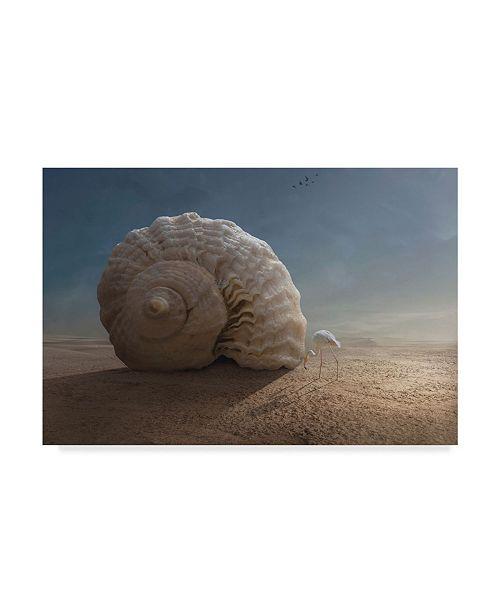 "Trademark Global Sulaiman Almawash 'Whats Inside' Canvas Art - 32"" x 2"" x 22"""
