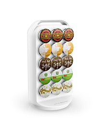 Mind Reader K-Cup Single Serve Coffee Pod Holder Carousel, 30 Capacity