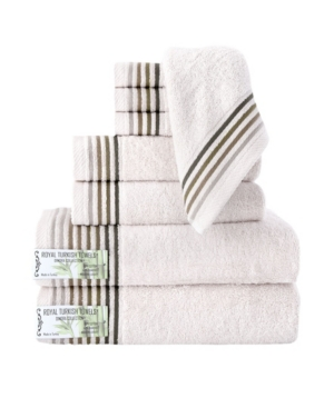 Classic Turkish Towels Dimora 8 Piece Luxury Bamboo Series Towel Set Bedding