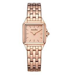 RumbaTime Bel Air Stainless Steel Watch