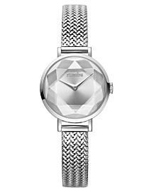 RumbaTime Hudson Gem Weave Mesh Watch