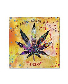 "Potman 'Colorado State of Mind' Canvas Art - 14"" x 14"" x 2"""