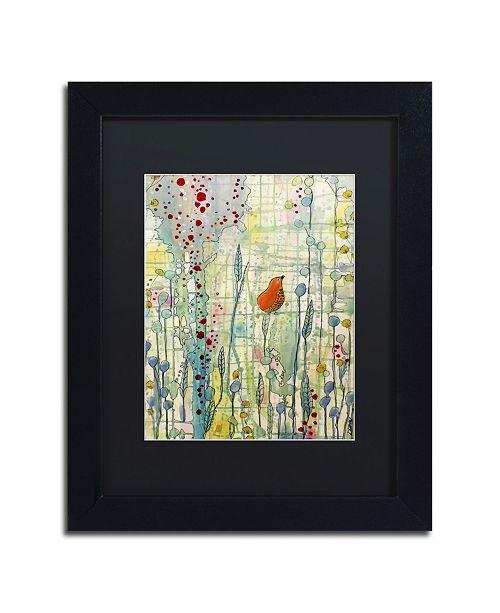 """Trademark Global Sylvie Demers 'Alpha' Matted Framed Art - 11"""" x 14"""" x 0.5"""""""