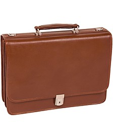 Lexington Flapover Double Compartment Briefcase
