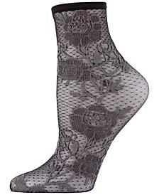 Women's Chantilly Sheer Shortie Socks